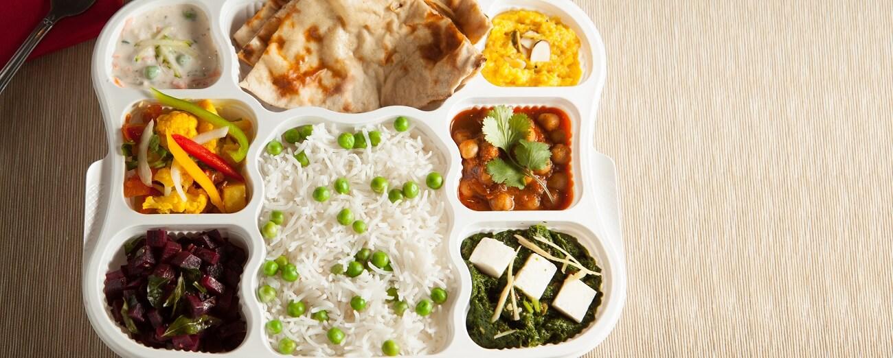 Thaali2go-Vegetarian ThaaliDD-Thaali2go